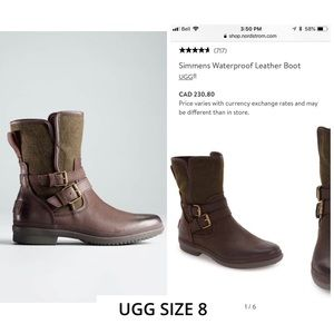 UGG Simmens Waterproof leather boots